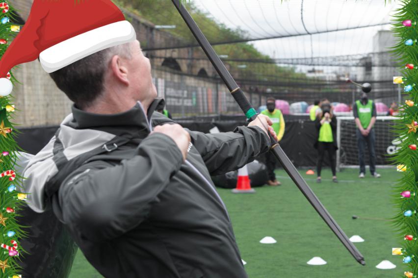 Christmas Archery Combat